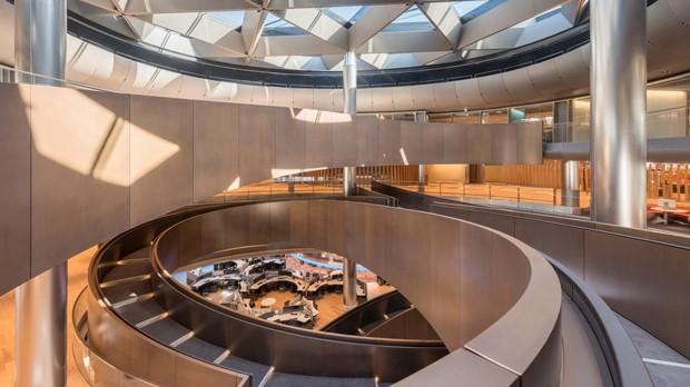 Sede da Bloomberg tem o melhor edifício do Reino Unido (Foto: Reprodução)