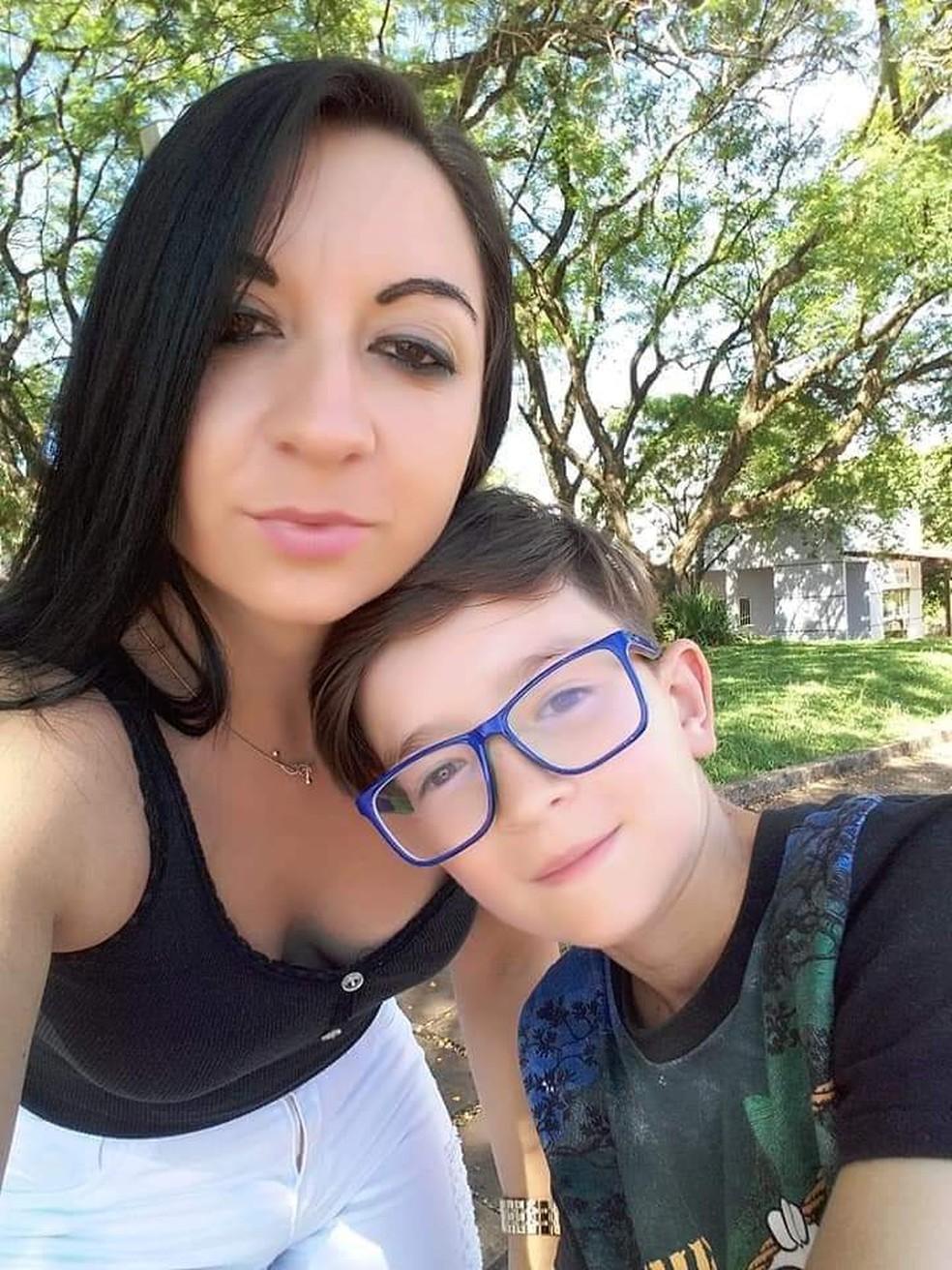 Mãe de Rafael Mateus Winques confessou morte do filho — Foto: Polícia Civil/Divulgação