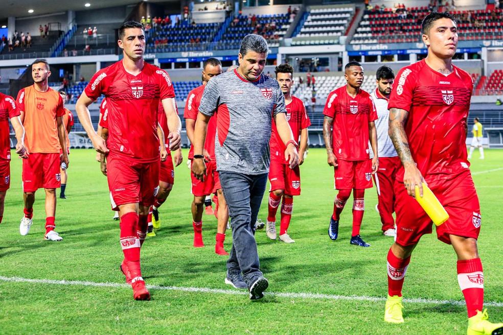 Dois jogos, duas derrotas; CRB quer primeira vitória do ano contra o Santa cruz — Foto: Ailton Cruz/Gazeta de Alagoas