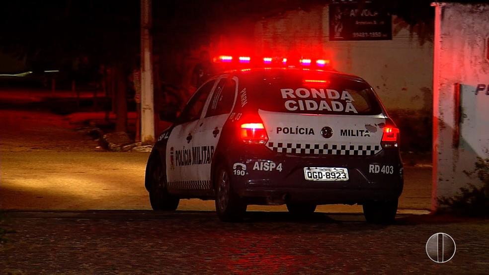 Agente penitenciário reage a tentativa de assalto e é baleado em Natal (Foto: Reprodução/Inter TV Cabugi)