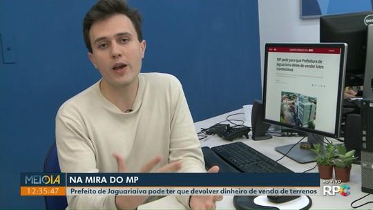 MP pede para que Prefeitura de Jaguariaíva deixe de vender lotes clandestinos
