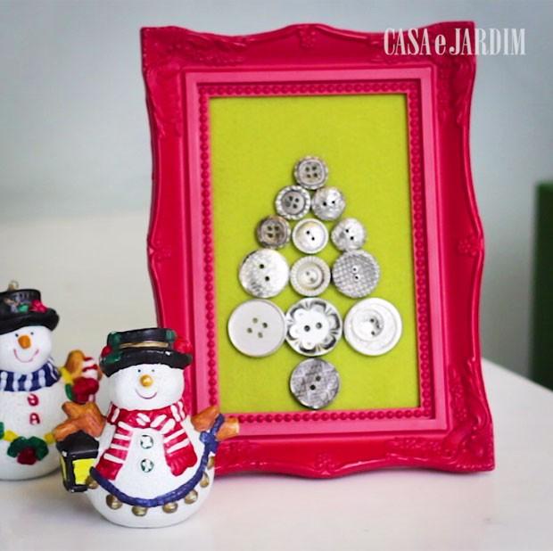 porta-retrato-decoração-de-natal (Foto: Casa e Jardim)