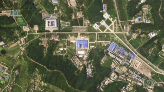 Imagens sugerem que Coreia do Norte pode estar construindo míssil