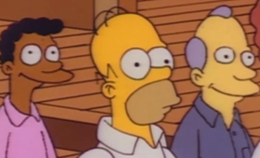 Facebook deTV transmite cena dos 'Simpsons' em looping por 3h45min na Austrália (Foto: Reprodução)