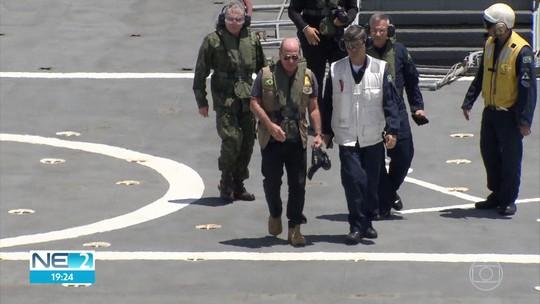 Fuzileiros navais deixam Pernambuco em dezembro para iniciar segunda fase de operação contra óleo no litoral