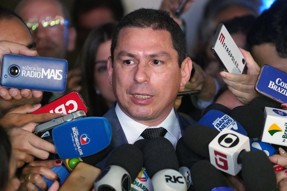 Deputado Marcelo Ramos (PL-AM), presidente da comissão especial da Previdência — Foto: Pablo Valadares/Câmara dos Deputados