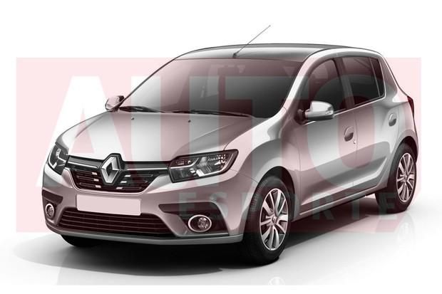 Renault Sandero brasileiro será diferente do facelift do europeu (Foto: Renato Aspromonte/Autoesporte)