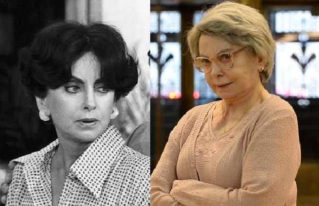Beatriz Segall era NOrah, mãe de Carina, personagem de Savala (Foto: Divulgação)