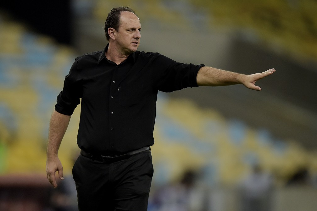 Rogério Ceni - Flamengo x Vélez Sarsfield - Libertadores 2021 — Foto: Staff Images/Conmebol