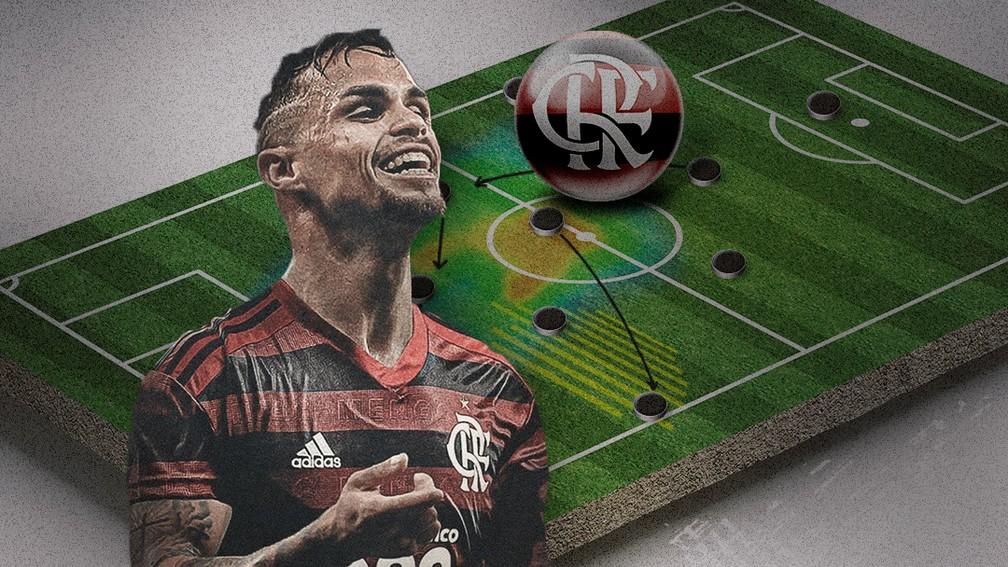 Carrossel Michael Flamengo — Foto: GloboEsporte.com