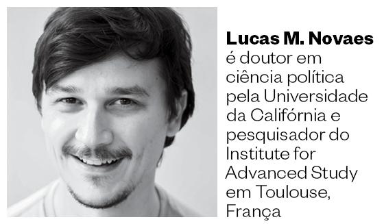 Lucas M. Novaes é doutor em ciência política pela Universidade da Califórnia e pesquisador do Institute for Advanced Study em Toulouse, França (Foto: Acervo Pessoal)