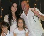 Claudia Mauro, Paulo César Grande e os filhos, Pedro e Carolina | Reprodução/Instagram