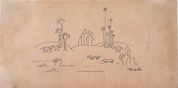 """""""Paisagem Antropofágica"""" (1929), de Tarsila do Amaral"""