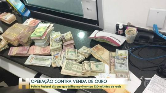 Polícia Federal faz operação contra o garimpo ilegal e contrabando de ouro