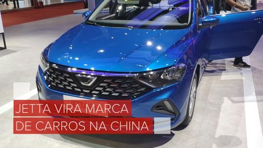 Jetta vira marca da Volkswagen na China, e sedã baseado no Santana é uma das apostas
