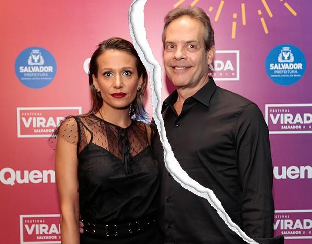 Luisa Mell e o marido Gilberto Zaborowsky (Foto: Rafael Cusato)