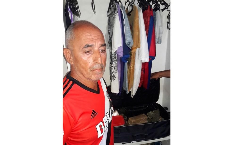 Suspeito Ai?? conhecido como Argentino ou Richard (Foto: PolAi??cia Civil)