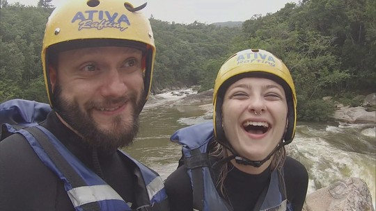 'Mistura' leva repórteres para aventura no rio
