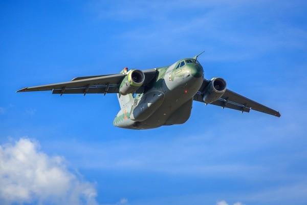 Cargueiro KC-390, da Embraer (Foto: Divulgação FAB)