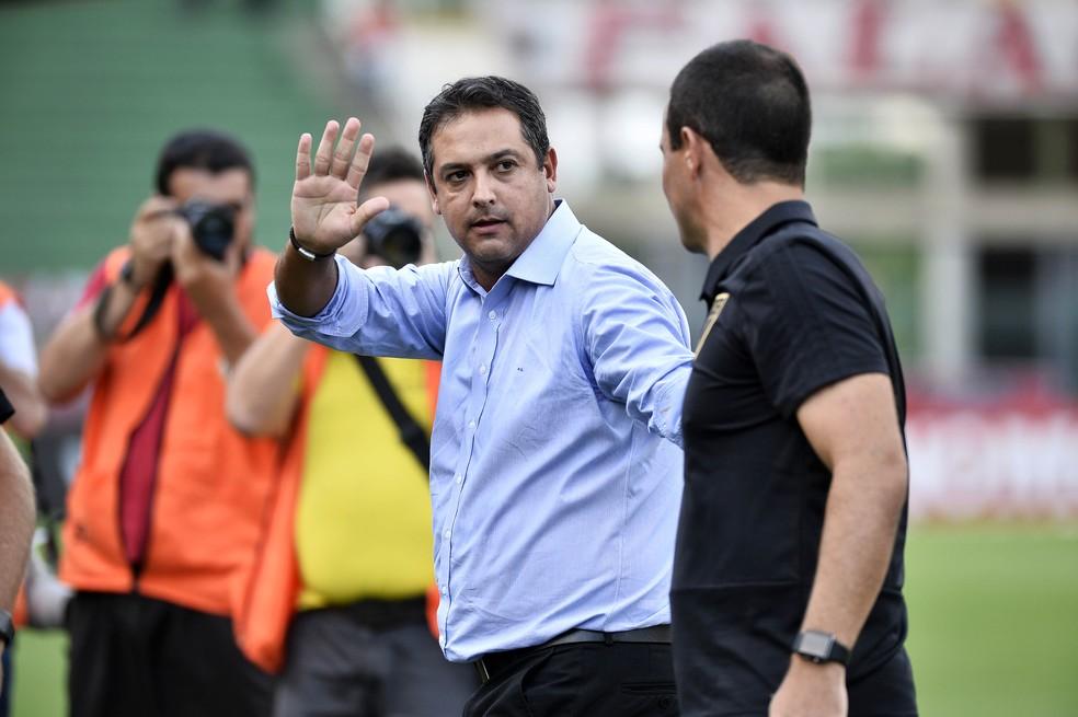 Marquinhos Santos comandou o Juventude no acesso à Série B — Foto: Marcos Ribolli