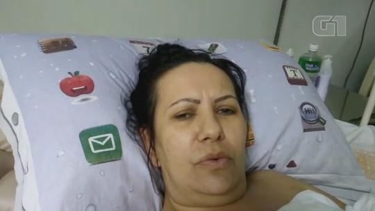'Acabou com a vida da minha família', diz mulher prensada por caminhonete em loja no interior de SP