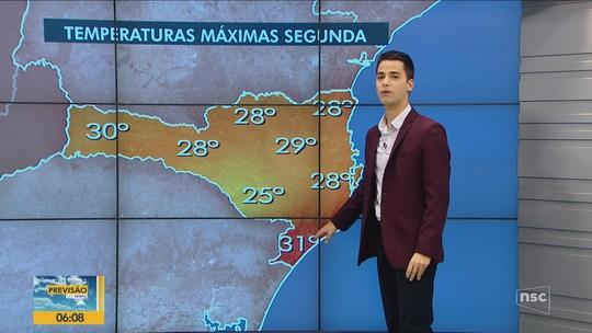 Segunda-feira inicia com baixas temperaturas na Serra; previsão é de sol em todas as regiões de SC