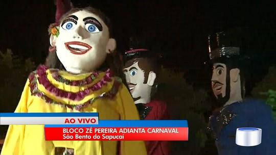 Com mais de 100 anos, bloco do Zé Pereira é atração em São Bento do Sapucaí