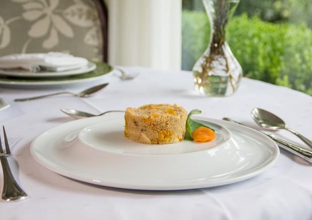 Amaranto entra em cena em receita de cuscuz com hortelã, amêndoas e damasco (Foto: Divulgação/Kurotel)