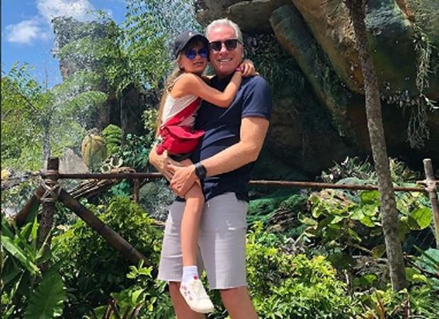 Roberto Justus e a filha, Rafaella (Foto: Reprodução/Instagram)