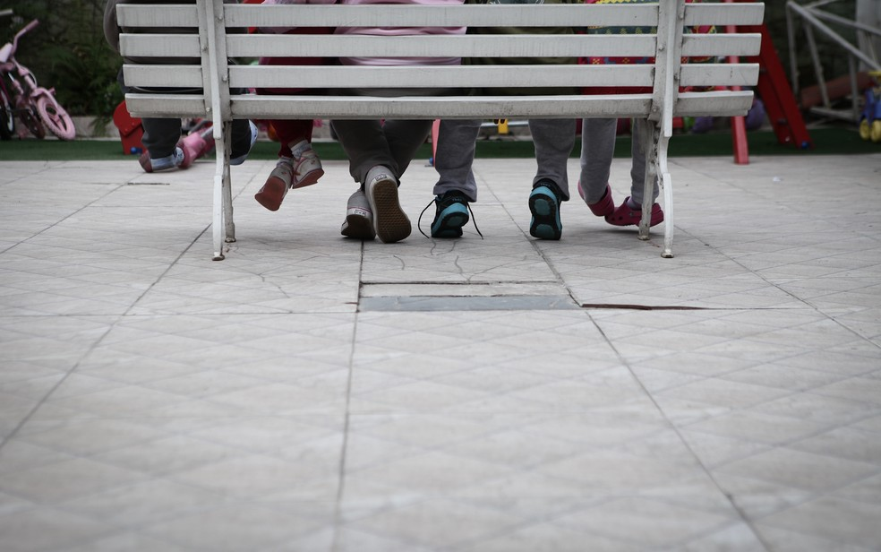Pandemia fez adoções caírem e abrigos mudarem a rotina — Foto: Caio Kenji/G1