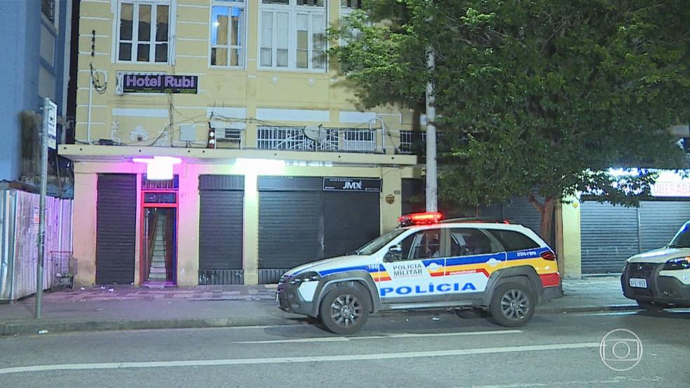Mulher é achada morta em hotel de BH — Foto: Reprodução/TV Globo