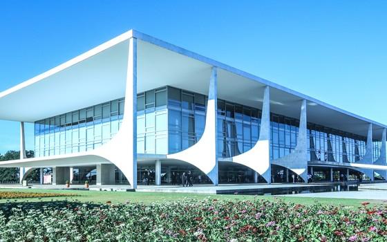 O Palácio do Planalto (Foto: Romério Cunha/Flickr)