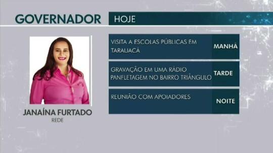 Confira a agenda dos candidatos ao Governo do Acre em 17 de setembro