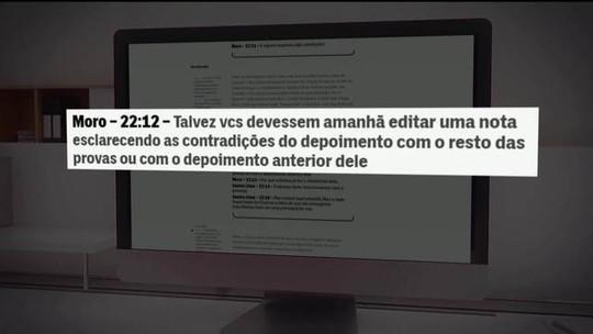 Intercept divulga novas mensagens atribuídas a Moro
