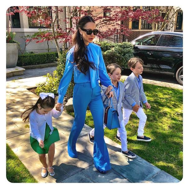 Jessica Mulroney com Ivy, Brian e John (Foto: Instagram/Reprodução)