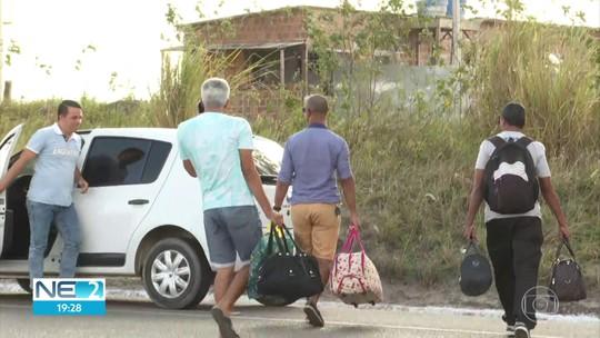 Ação apreende veículos que faziam transporte clandestino de passageiros entre Pernambuco e Paraíba