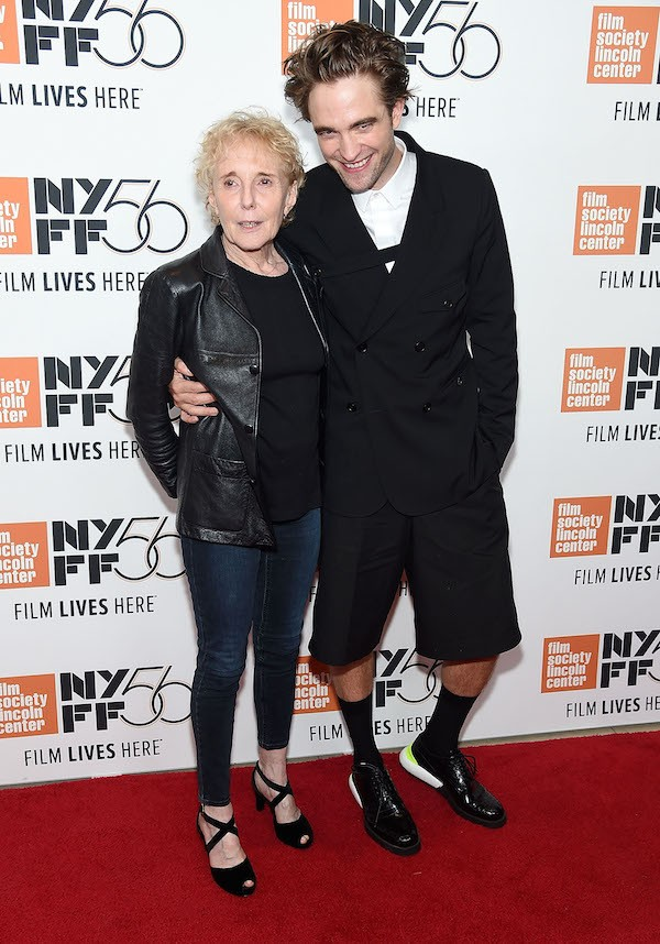 O ator Robert Pattinson com a cineasta Claire Denis (Foto: Getty Images)