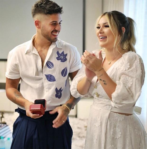 Virginia e Zé Felipe se casaram neste 26 de março (Foto: Reprodução / Instagram)