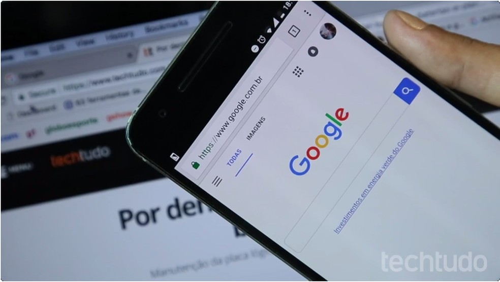 Google agora deixa pesquisar por músicas cantarolando sem letra — Foto: João Gabriel Balbi/TechTudo