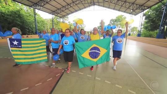 Torneio de vôlei reúne idosas de 60 a 80 anos em momento de integração