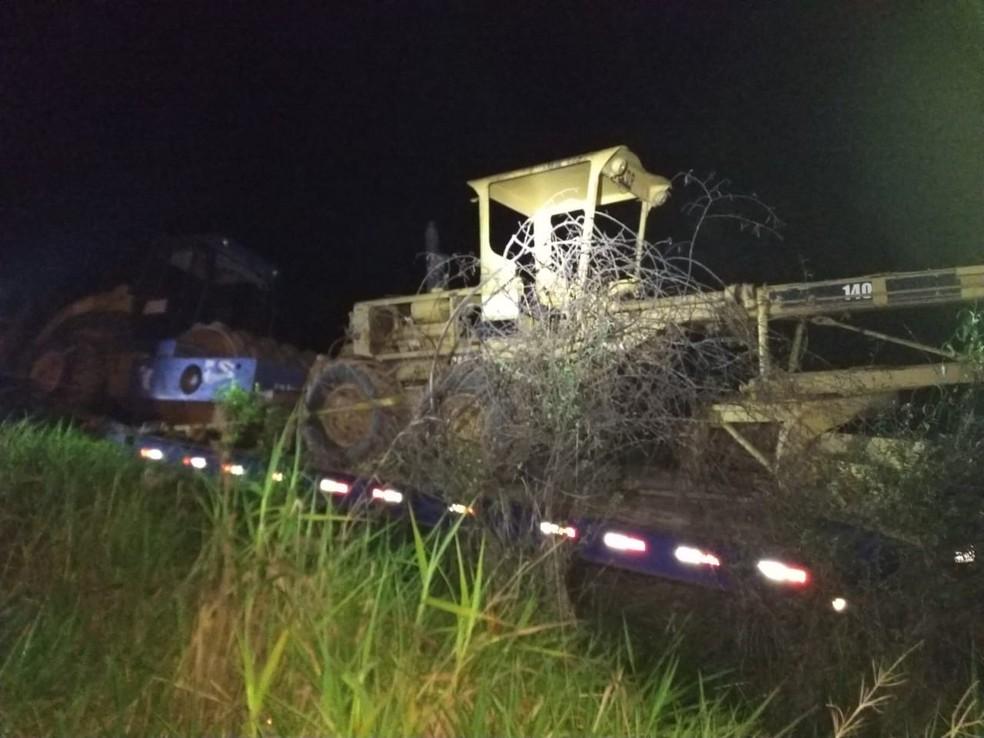 Pereira pode ter sido atropelado pelo próprio caminhão, diz testemunha  — Foto: Divulgação/PRF-AC