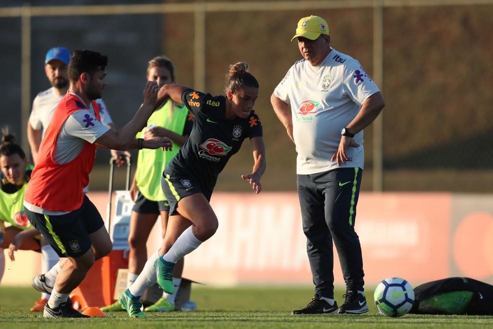 Vadão busca novos nomes para compor grupo que disputará Olimpíada e Copa do Mundo  (Foto: Lucas Figueiredo/CBF )