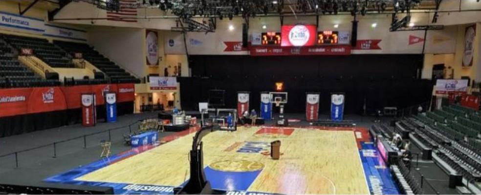 HP Field House, ginásio usado pela NBA na Disney — Foto: Divulgação NBA