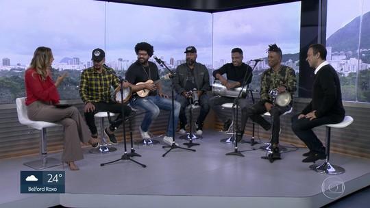 Grupo Bom Gosto é a atração gratuita do Samba da Feira nos galpões do Engenhão