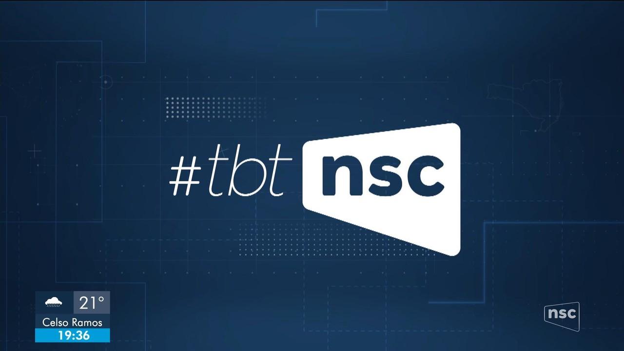 #TBT NSC relembra apresentadores e repórteres da NSC