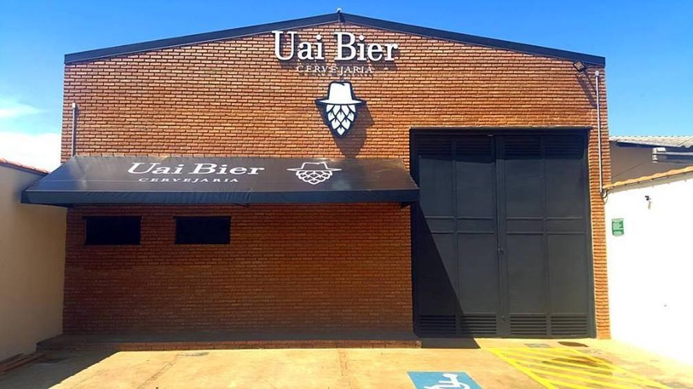 Fábrica no Bairro Minas Gerais abrirá em meados de março  (Foto: Uai Bier Cervejaria/Divulgação)