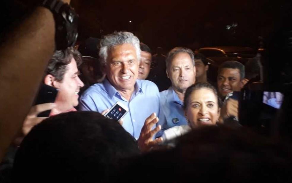 Ronaldo Caiado (DEM), eleito governador de Goiás no 1º turno das eleições 2018 — Foto: Vanessa Martins/G1