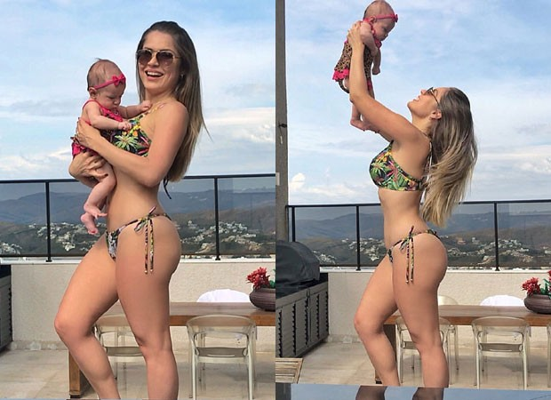 Renata Dávila com a filha, Alice (Foto: Reprodução Instagram)