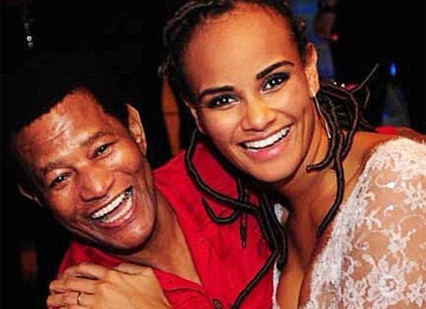 Jair Rodrigues e Luciana Mello (Foto: Reprodução)