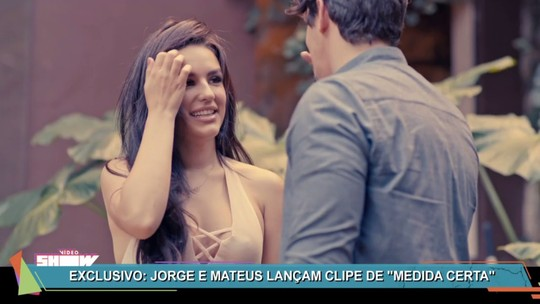 Jorge e Mateus lançam clipe da música 'Medida Certa' no 'Vídeo Show'